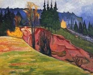 Тюрингенский Лес — Эдвард Мунк