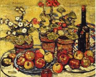 Fruit and Flowers — Морис Прендергаст