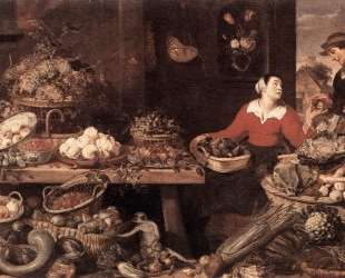 Fruit and Vegetable Market — Франс Снейдерс