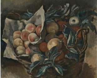 Натюрморт с фруктами — Зинаида Серебрякова