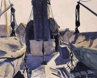 Funell of Trawler — Эдвард Хоппер