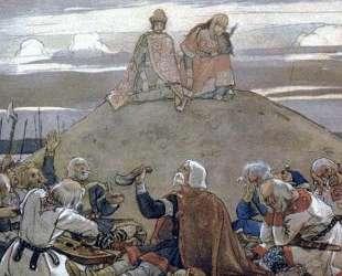 Funeral Feast for Oleg — Виктор Васнецов