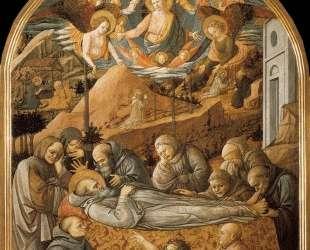 Funeral of St. Jerome — Филиппо Липпи
