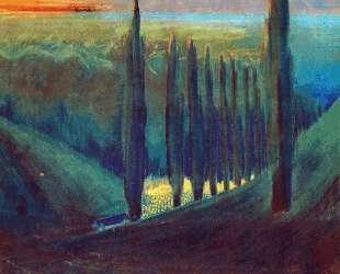 Похоронная симфония (IV) — Микалоюс Чюрлёнис