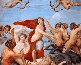 The Triumph of Galatea — Рафаэль Санти
