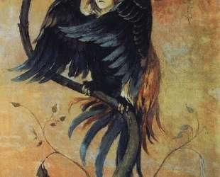 Gamaun, The prophetic bird — Виктор Васнецов