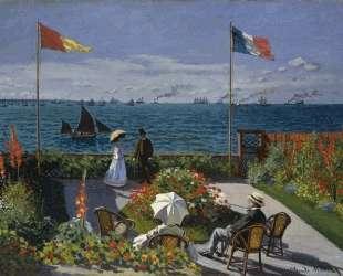 Сад в Сен-Адрес — Клод Моне