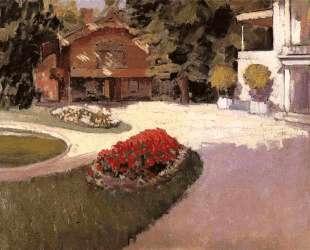 Garden at Yerres — Гюстав Кайботт