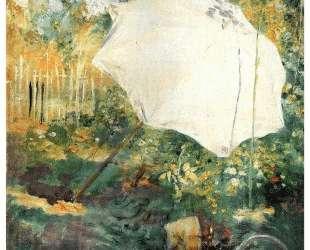 Garden in Grez — Карл Ларссон