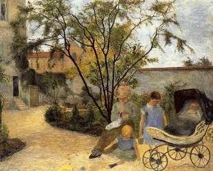 Сад на рю Карсель — Поль Гоген