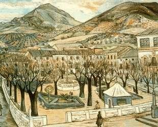 Garden of Quesada in winter — Рафаэль Забалета