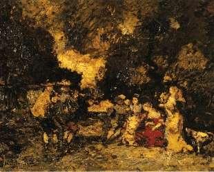 Garden Party — Адольф Жозеф Тома Монтичелли