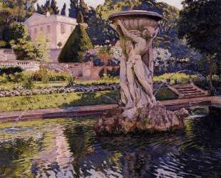 Garden with Villa and Fountain — Тео ван Рейссельберге