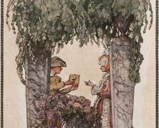 Подарок садовника — Константин Сомов