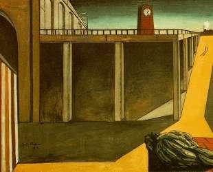 Вокзал Монпарнас (Меланхолия отъезда) — Джорджо де Кирико