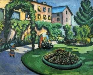 Gartenbild — Август Маке