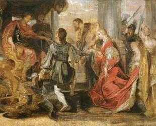 Generosity of Scipio — Питер Пауль Рубенс