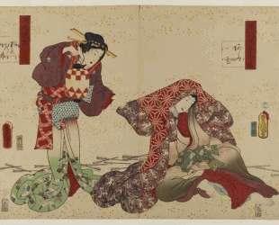 Genji — Утагава Кунисада