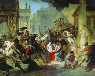 Нашествие Гензериха на Рим — Карл Брюллов