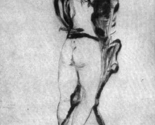 Девушка и смерть — Эдвард Мунк