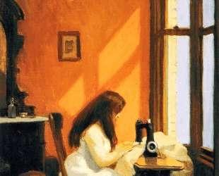 Girl at a Sewing Machine — Эдвард Хоппер
