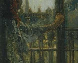 Girl at a Window, Little Rachel — Уолтер Сикерт