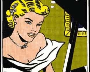 Девушка за фортепиано — Рой Лихтенштейн