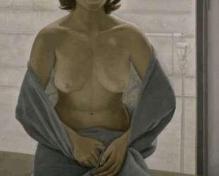 Девушка, укутанная в одеяло — Люсьен Фрейд