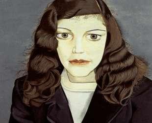 Девушка в темном пальто — Люсьен Фрейд