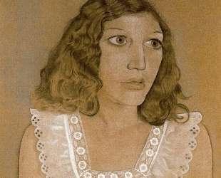 Девушка в белом платье — Люсьен Фрейд