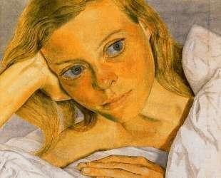 Девушка в постели — Люсьен Фрейд