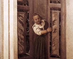 Girl in the Doorway — Паоло Веронезе
