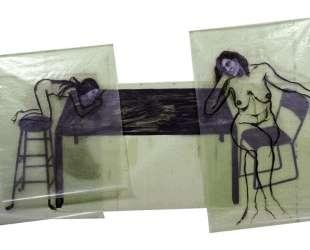 Girl on a Drawing Table — Эрик Фишль