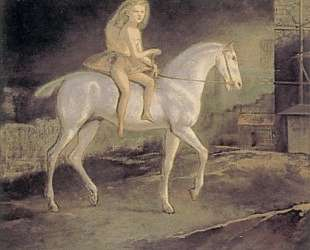 Girl on a white horse — Бальтюс