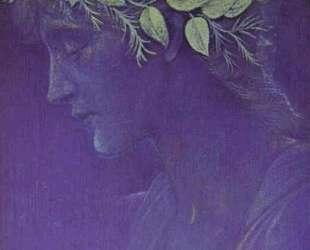 Голова девушки — Эдвард Бёрн-Джонс