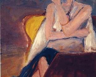 Girl Smoking — Ричард Дибенкорн