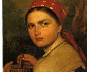 Girl with Burak — Алексей Венецианов