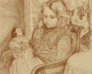 Girl with Doll — Жорж Леммен