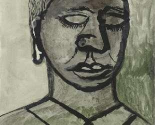 Девушка с закрытыми глазами — Люсьен Фрейд
