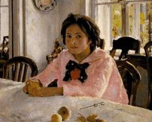 Девочка с персиками. Портрет В. С.Мамонтовой — Валентин Серов
