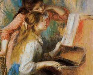 Girls at the Piano — Пьер Огюст Ренуар