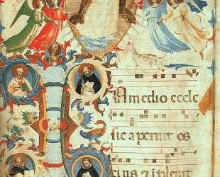 Прославление святого Доминика — Фра Анджелико