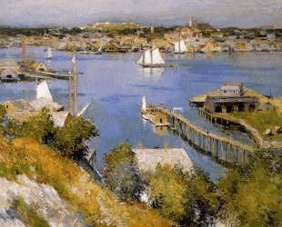 Gloucester harbour Sun — Уиллард Меткалф