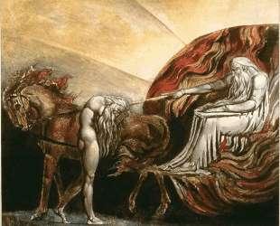Бог судит Адама — Уильям Блейк
