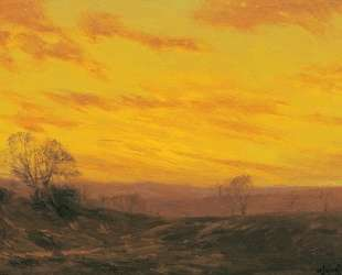 Golden Evening, Southwest Texas — Роберт Джулиан Ондердонк