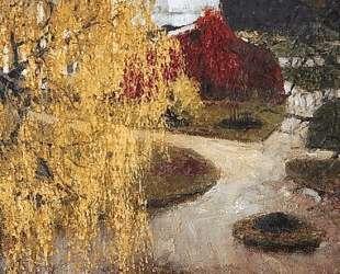 Золотые листья — Игорь Грабарь