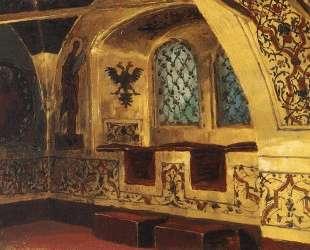 Золотая царицына палата. Окно. — Василий Поленов
