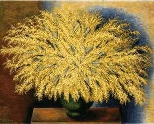 Большой букет мимозы — Моис Кислинг