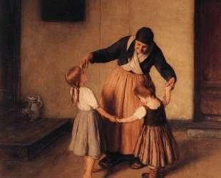 Grandma and Children — Николаос Гизис