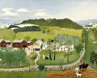 Grandma Moses Goes to the Big City — Бабушка Мозес